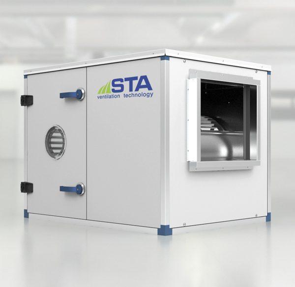 STA Ventilation Technolgy -V-belt driven exhauster type EBP
